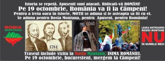 protest moti apuseni marea adunare la campeni 19 octombrie 2013 romanii ies in strada impotriva nedreptatilor proiectului rosia montana demisia guvernul ponta