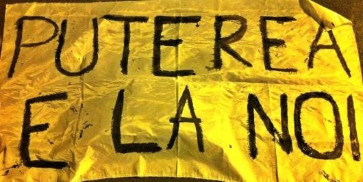 puterea e la noi popor mars protest rosia montana 3 noiembrie 11 2013 bucuresti universitate cotroceni protestatari romanii ies in strada impotriva proiect cianuri coruptie