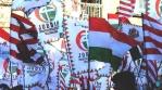 steag ungaria formatiunea jobbik culori rosu alb verde in campania contul facebook logo uniti salvam rosia montana soros sponsorizeaza ong urile impotriva proiectului minier cianuri 12