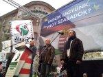 steag ungaria formatiunea jobbik culori rosu alb verde in campania contul facebook logo uniti salvam rosia montana soros sponsorizeaza ong urile impotriva proiectului minier cianuri 15