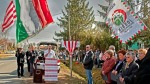 steag ungaria formatiunea jobbik culori rosu alb verde in campania contul facebook logo uniti salvam rosia montana soros sponsorizeaza ong urile impotriva proiectului minier cianuri 16