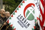 steag ungaria formatiunea jobbik culori rosu alb verde in campania contul facebook logo uniti salvam rosia montana soros sponsorizeaza ong urile impotriva proiectului minier cianuri 6