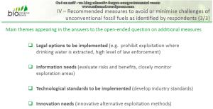 Rezultate consultare publica CE privind exploatarea gazelor de sist in Europa raport UE 75% dintre respondentii romani sunt ferm impotriva anti contra fracturarii hidraulice 7