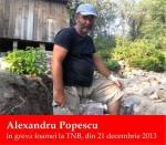 Alexandru Popescu a intrat in greva foamei la Teatrul national TNB Bucuresti Universitate din 21 decembrie 2013 solidaritate cu Pungesti anti Chevron impotriva gazelor de sist nedreptate coruptie mafie