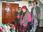 La mers  colindat cu colinde capra traditii si obiceiuri in orasul Bicaz, judetul Neamt Moldova 2010-2011 revelion cantece de iarna bicajeni costumati medic politist tiganca datini stramosesti ceicunoi