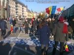 ziua nationala a Romaniei 1 intai decembrie 12 2013 Targu Mures grup tineri romani buna credinta patrioti dragos burghelia parada militara steagul romaniei la multi ani 21
