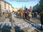ziua nationala a Romaniei 1 intai decembrie 12 2013 Targu Mures grup tineri romani buna credinta patrioti dragos burghelia parada militara steagul romaniei la multi ani 22