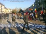 ziua nationala a Romaniei 1 intai decembrie 12 2013 Targu Mures grup tineri romani buna credinta patrioti dragos burghelia parada militara steagul romaniei la multi ani 23