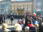 ziua nationala a Romaniei 1 intai decembrie 12 2013 Targu Mures manifestatie sarbatoare parada militara parasutist steagul romaniei tineri romani patrioti la multi ani 16