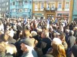 ziua nationala a Romaniei 1 intai decembrie 12 2013 Targu Mures manifestatie sarbatoare parada militara parasutist steagul romaniei tineri romani patrioti la multi ani 18