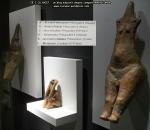 42 poze imagini foto muzeul istorie arheologie figurina statuie  ganditorul arta cultura civilizatia cucuteni piatra neamt istoria milenara a romaniei artefacte vase ceramice figurine obiecte ceramica
