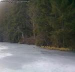 44 poze foto imagini lacu rosu bicaz chei inghetat iarna ianuarie 2014 oameni care merg pe apa lacului lac gheata cu patine de gheata pe lac inghetat natural strat gheata zapada munte judetul neamt
