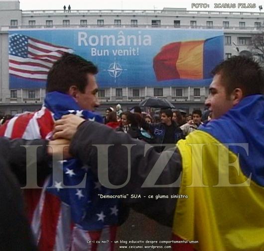 foto Icarus Films aderarea romaniei la nato Romania colonie saraca exploatata distrusa Imperiul Atlantist ameroca Vest NATO SUA UE FMI) Tactica pamantului parjolit cine conduce lumea romania