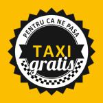 Transport taxi gratis gratuit in Bucuresti pentru persoane cu probleme financiare fara bani medicale locomotorii amarate nevoiasi saraci handicap fizic probleme deplasare urgente nevazatori logo promovare