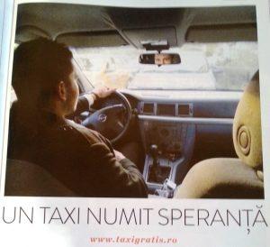 Transport taxi gratis gratuit in Bucuresti pentru persoane cu probleme financiare fara bani medicale locomotorii amarate nevoiasi saraci handicap fizic probleme deplasare urgente nevazatori revista vip