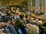 5 conferinta adevarul despre istoria Romaniei 21 02 februarie 2014 Bucuresti facultatea arhitectura ion mincu asociatia Vatra Daciei Pe urmele geto-dacilor  istoria ascunsa a romanilor proiecte neamul romanesc