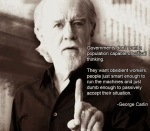 obedienta citat george carlin educatie invatamant pentru turme efectele nocive ale scolii asupra copiilor scopul real al sistemului de invatamant indoctrinare inregimentare distrugere mentala sclavie