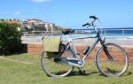bicicleta occident de oras city bike gazelle deplasarea in localitate drum lung de sosea prin trafic olandeza din olanda second hand magazine biciclete internet online comercianti piese accesorii bicicleta sh