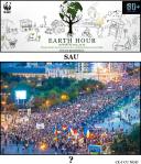 Ce ar trebui sa faca eveniment Earth Hour 29 martie 2014 Ineficienta evenimentului Ora Pamantului bucuresti. Activitati pentru mediu Actiune manifestare de protest pentru protectia mediului societatii umane