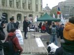 poze imagini foto protest national 6 aprilie 2014 impotriva gazelor de sist, miting anti fracking, contra exploatare gaze neconventionale prin fracturare hidraulica toxica fracking 10