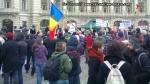 poze imagini foto protest national 6 aprilie 2014 impotriva gazelor de sist, miting anti fracking, contra exploatare gaze neconventionale prin fracturare hidraulica toxica fracking 15