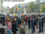 poze imagini foto protest national 6 aprilie 2014 impotriva gazelor de sist, miting anti fracking, contra exploatare gaze neconventionale prin fracturare hidraulica toxica fracking 8