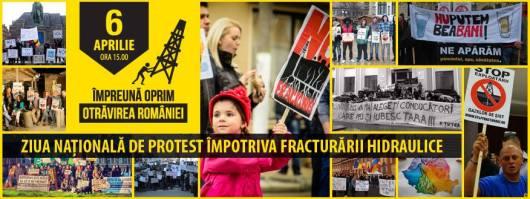 Protest national 6 aprilie 2014 impotriva gazelor de sist, miting anti fracking, contra exploatare prin fracturare hidraulica toxica poluare sol apa cutremure dependenta corporatii 1