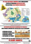 Protest national 6 aprilie 2014 impotriva gazelor de sist, miting anti fracking, contra exploatare prin fracturare hidraulica toxica poluare sol apa cutremure dependenta corporatii 4
