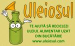 Cum si unde reciclezi uleiul alimentar uzat din gospodarie - proiectul Uleiosul din Bucuresti te ajuta sa colectezi uleiul din bucatarie. Nu aruncati uleiul in chiuveta reciclare colectare selectiva deseuri 1