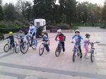 Scoala de bicicleta MTB - cursuri gratuite pentru copii biciclisti incepatori offroad by ciclist profesionist Ulisse Gheduzzi parcul carol Bucuresti martie aprilie 2014 plimbari bicicleta 1