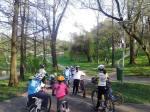 Scoala de bicicleta MTB - cursuri gratuite pentru copii biciclisti incepatori offroad by ciclist profesionist Ulisse Gheduzzi parcul carol Bucuresti martie aprilie 2014 plimbari bicicleta 12