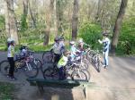Scoala de bicicleta MTB - cursuri gratuite pentru copii biciclisti incepatori offroad by ciclist profesionist Ulisse Gheduzzi parcul carol Bucuresti martie aprilie 2014 plimbari bicicleta 16