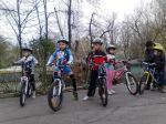 Scoala de bicicleta MTB - cursuri gratuite pentru copii biciclisti incepatori offroad by ciclist profesionist Ulisse Gheduzzi parcul carol Bucuresti martie aprilie 2014 plimbari bicicleta 17
