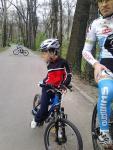 Scoala de bicicleta MTB - cursuri gratuite pentru copii biciclisti incepatori offroad by ciclist profesionist Ulisse Gheduzzi parcul carol Bucuresti martie aprilie 2014 plimbari bicicleta 19