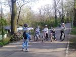 Scoala de bicicleta MTB - cursuri gratuite pentru copii biciclisti incepatori offroad by ciclist profesionist Ulisse Gheduzzi parcul carol Bucuresti martie aprilie 2014 plimbari bicicleta 4