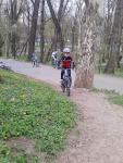 Scoala de bicicleta MTB - cursuri gratuite pentru copii biciclisti incepatori offroad by ciclist profesionist Ulisse Gheduzzi parcul carol Bucuresti martie aprilie 2014 plimbari bicicleta 33