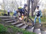 Scoala de bicicleta MTB - cursuri gratuite pentru copii biciclisti incepatori offroad by ciclist profesionist Ulisse Gheduzzi parcul carol Bucuresti martie aprilie 2014 plimbari bicicleta 34
