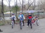 Scoala de bicicleta MTB - cursuri gratuite pentru copii biciclisti incepatori offroad by ciclist profesionist Ulisse Gheduzzi parcul carol Bucuresti martie aprilie 2014 plimbari bicicleta 5