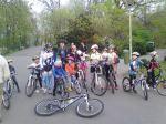 Scoala de bicicleta MTB - cursuri gratuite pentru copii biciclisti incepatori offroad by ciclist profesionist Ulisse Gheduzzi parcul carol Bucuresti martie aprilie 2014 plimbari bicicleta 7
