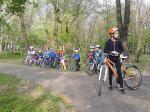 Scoala de bicicleta MTB - cursuri gratuite pentru copii biciclisti incepatori offroad by ciclist profesionist Ulisse Gheduzzi parcul carol Bucuresti martie aprilie 2014 plimbari bicicleta 8