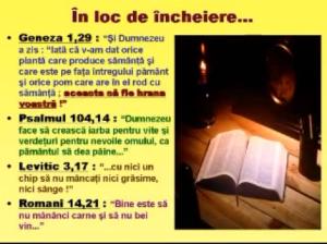 Hrana ideala in Biblie dumnezeu vegetale fara carne Prezentare TEXT Calin Marginean 01 - Colesterolul - prieten sau dusman Cum scapam de colesterol. Cum ne mentinem sanatosi