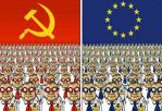 Comparatie UE - URSS, de Vladimir Bukovsky. Eu am trait in viitorul tau si nu a functionat!. Uniunea Europeana este noua Uniune Sovietica (nom)