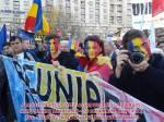 Marsul Unirii. Marsul pentru Basarabia 2014. București, 12 octombrie, ora 14, Șoseaua Kiseleff, langa Muzeul Taranului Român unirea face puterea 2