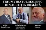 triumviratul malefic din sistemul juridic jefuieste si distruge poporul român prin procurori, judecatori, avocati, lichidatori si executori aflati in mana mafia strainilor