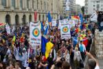 poze video fotografii eveniment marsul unirii pentru basarabia e romania 12 octombrie 2014 bucuresti unirea romaniei cu republica moldova 10