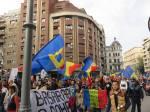 poze video fotografii eveniment marsul unirii pentru basarabia e romania 12 octombrie 2014 bucuresti unirea romaniei cu republica moldova 11