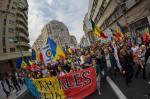 poze video fotografii eveniment marsul unirii pentru basarabia e romania 12 octombrie 2014 bucuresti unirea romaniei cu republica moldova 12