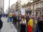 poze video fotografii eveniment marsul unirii pentru basarabia e romania 12 octombrie 2014 bucuresti unirea romaniei cu republica moldova 13