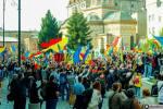 poze video fotografii eveniment marsul unirii pentru basarabia e romania 12 octombrie 2014 bucuresti unirea romaniei cu republica moldova 28