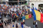 poze video fotografii eveniment marsul unirii pentru basarabia e romania 12 octombrie 2014 bucuresti unirea romaniei cu republica moldova 6